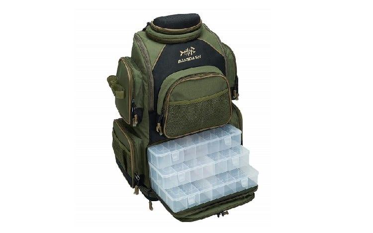 Bassdash Fishing Tackle Backpack  review