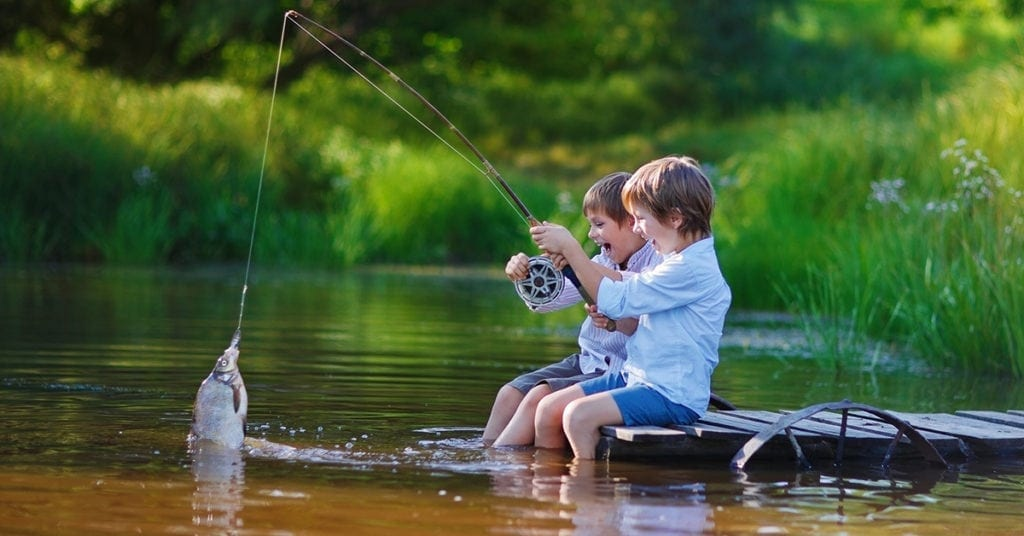 Going Fishing With Kids