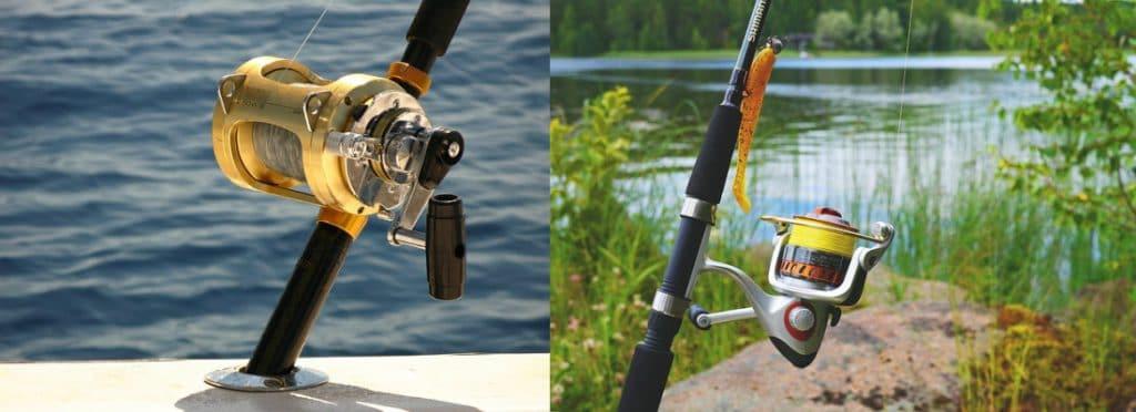 Salt Water vs Fresh Water Fishing Comprison