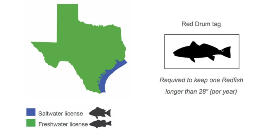 Texas Salt Water Areas for Fishing