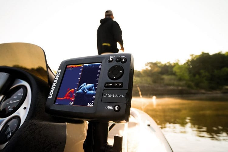 Mounted Fish Finder