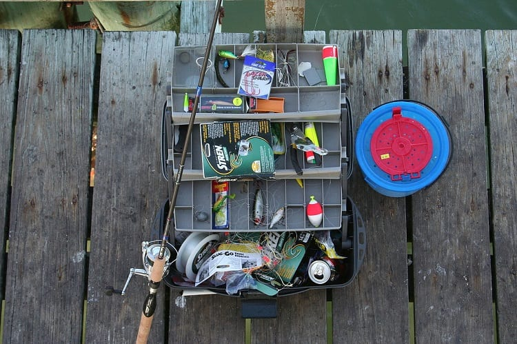 beginners tackle box