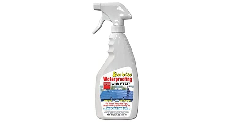 Star Brite Waterproofing With PTEF 22oz Marine Fabric Cleaning Supply 81922