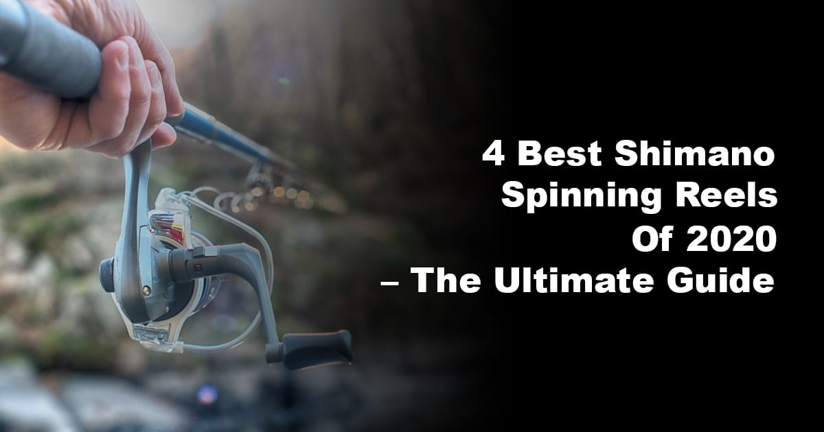 4 Best Shimano Spinning Reels Of 2020 – The Ultimate Guide
