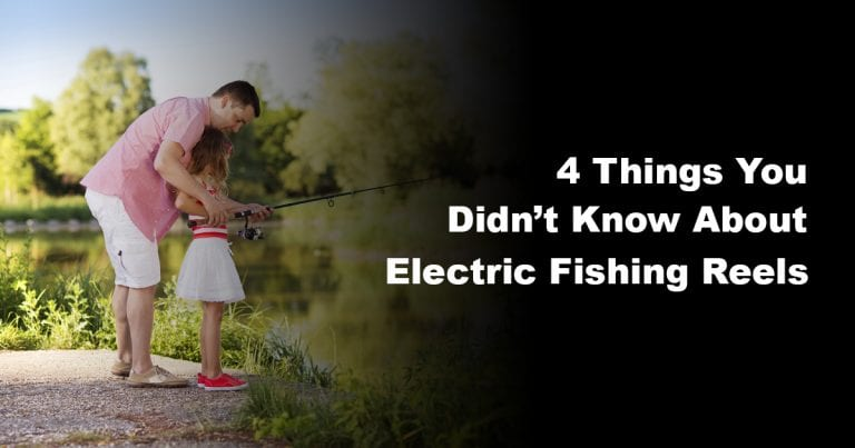 4 Things You Didn't Know About Electric Fishing Reels