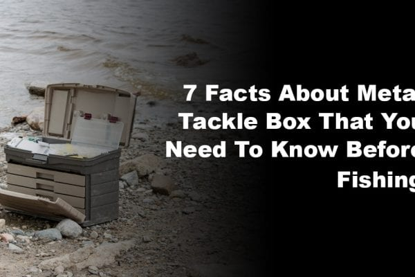 7 Facts About Metal Tackle Box That You Need To Know Before Fishing
