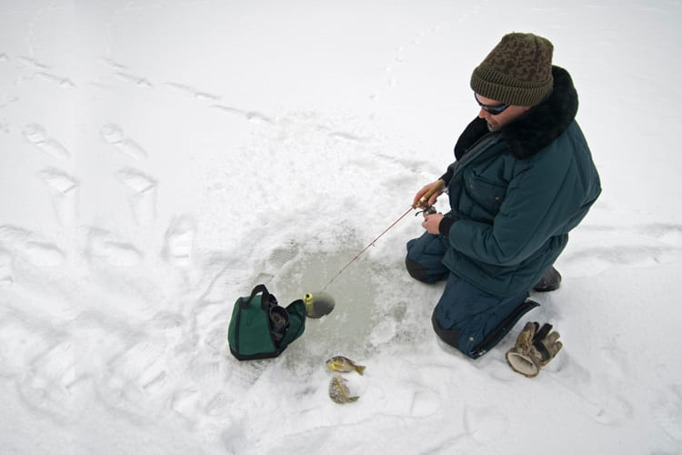 Learning how to ice fish