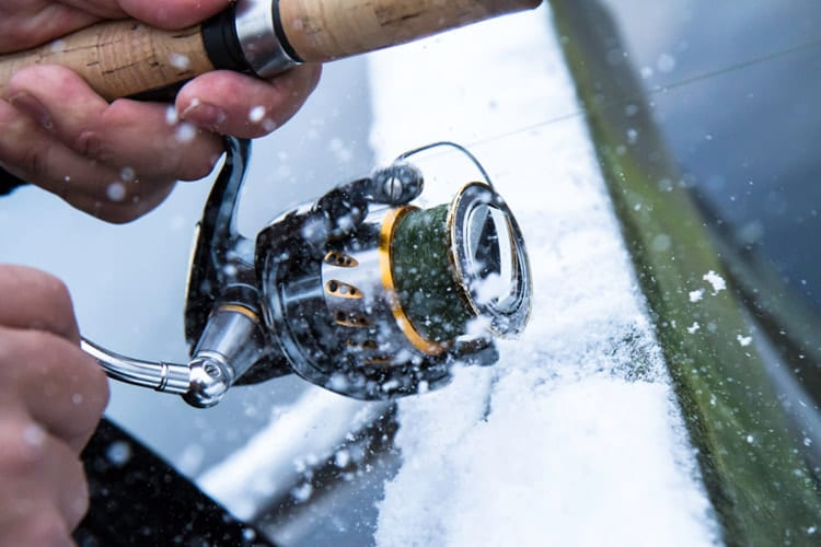 Winter fishing takes a little more prep than warm weather